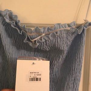 LF Dresses - Blue slip dress